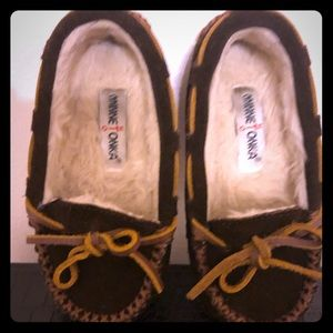Minnetonka Toddler Girls Moccasins